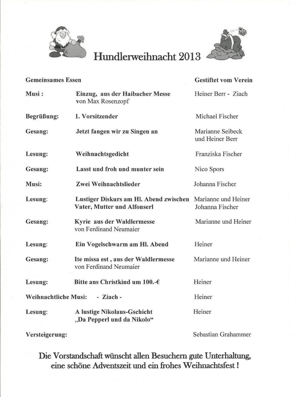og kolbermoor e. v. - neuigkeiten 2013, Einladung